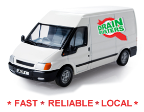The Drain Busters Van